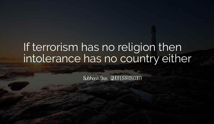 Quotes About Terrorism #59398