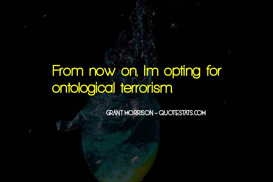 Quotes About Terrorism #60739