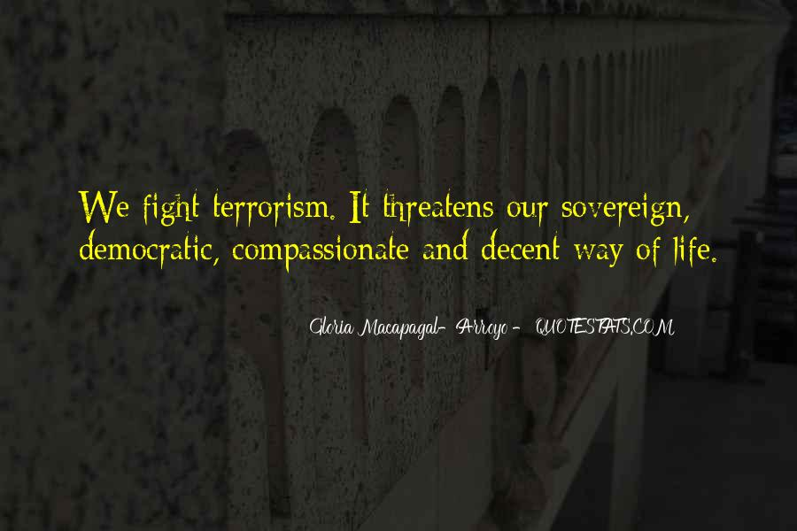 Quotes About Terrorism #72847
