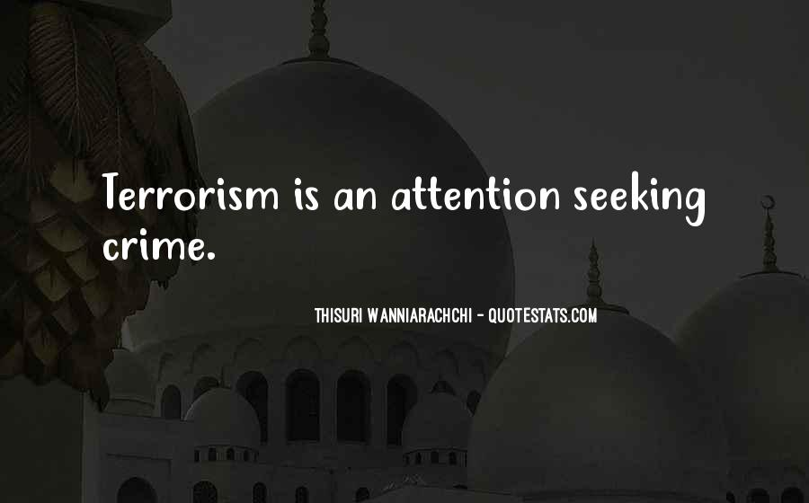 Quotes About Terrorism #80450