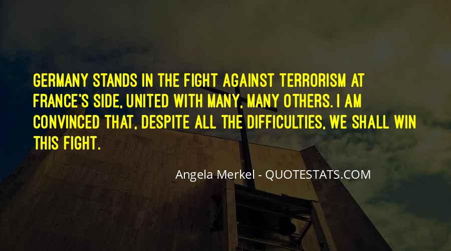 Quotes About Terrorism #8247
