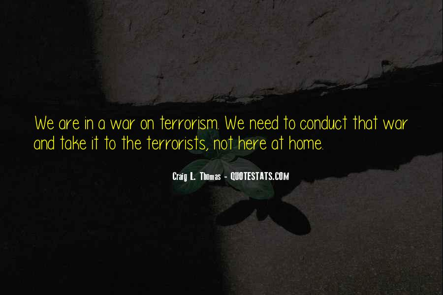 Quotes About Terrorism #84825
