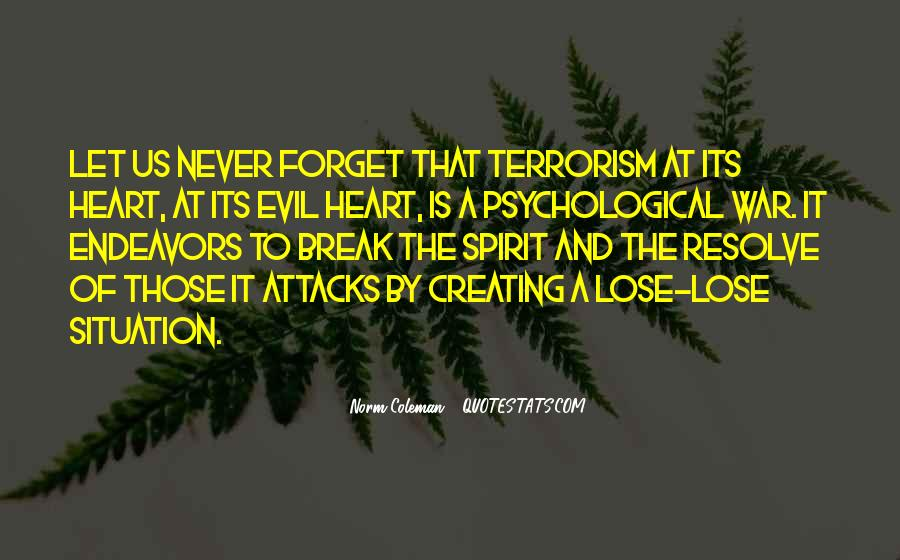 Quotes About Terrorism #88133