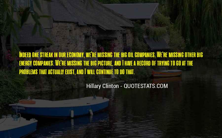 Quotes About Oil Companies #1111719