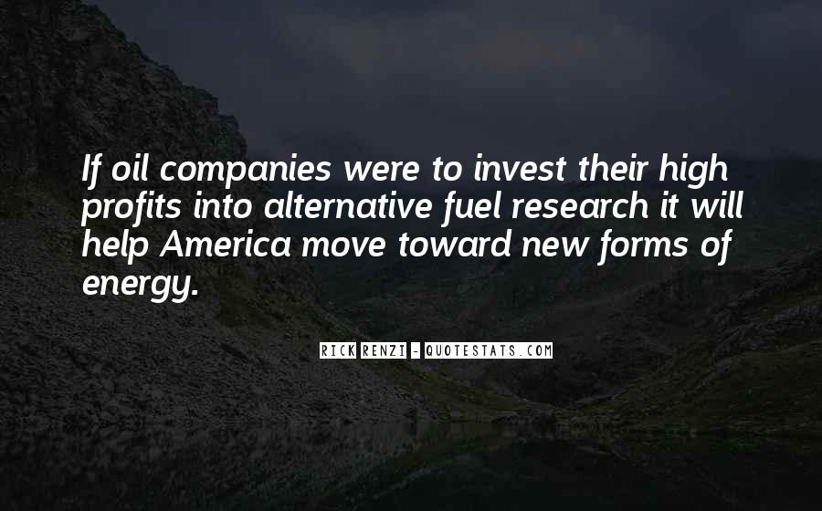 Quotes About Oil Companies #1449704