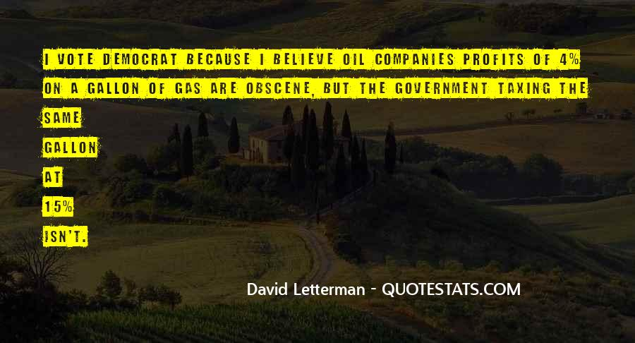 Quotes About Oil Companies #1503235