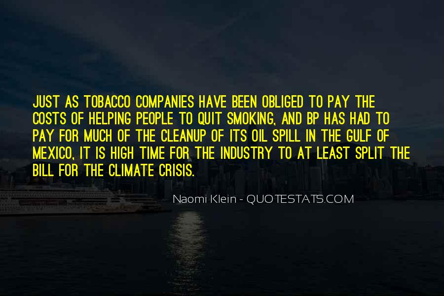 Quotes About Oil Companies #1649871