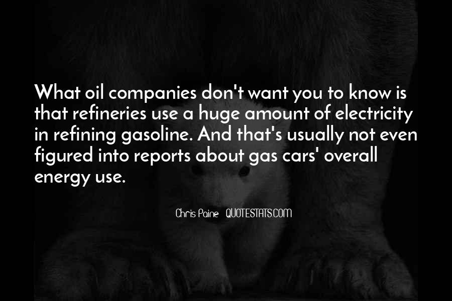 Quotes About Oil Companies #1768700