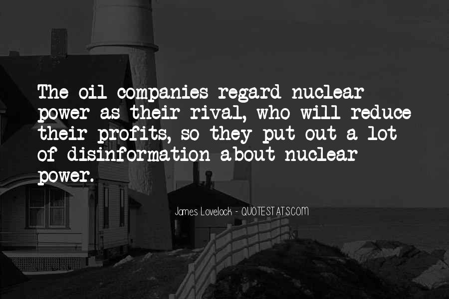 Quotes About Oil Companies #269384