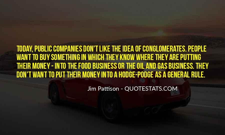 Quotes About Oil Companies #295645
