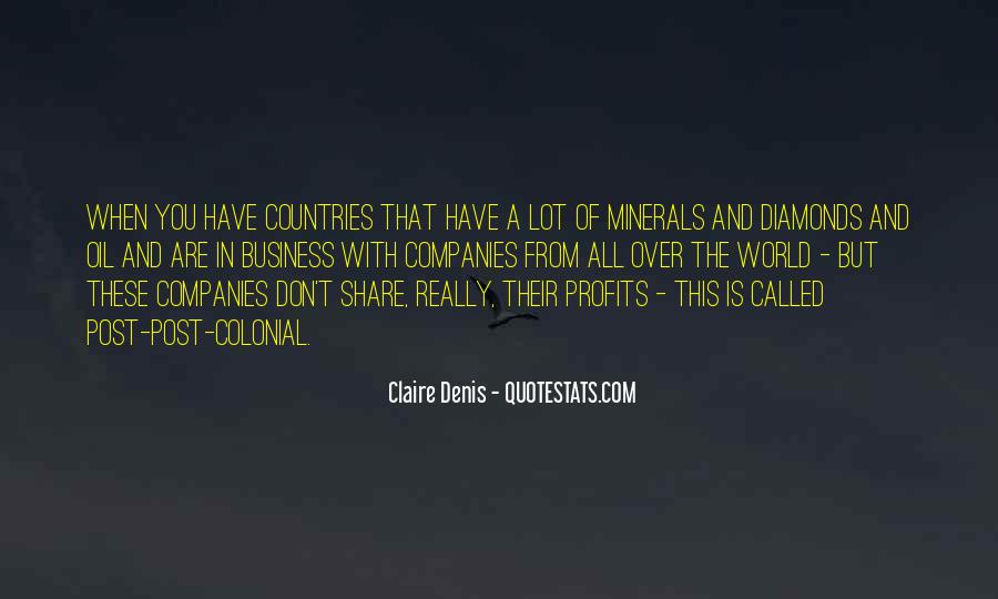 Quotes About Oil Companies #383861
