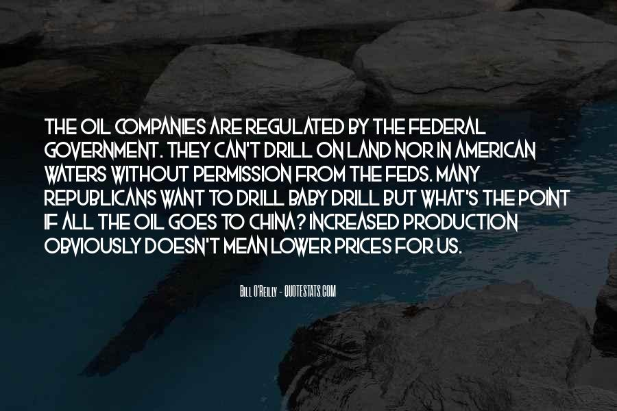 Quotes About Oil Companies #405270