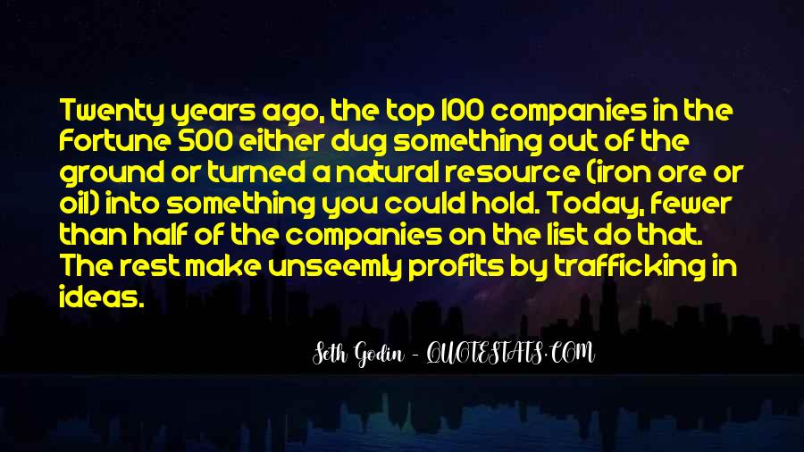 Quotes About Oil Companies #603865