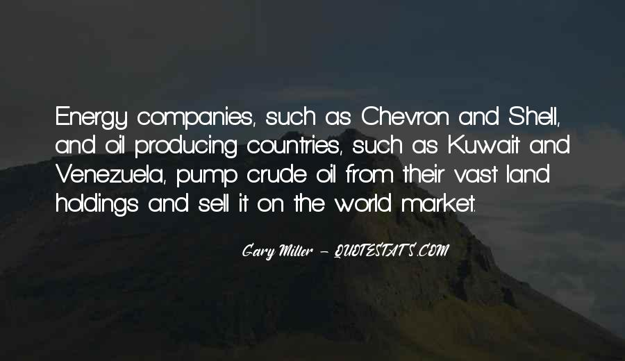Quotes About Oil Companies #629700