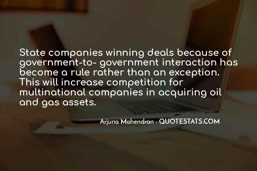 Quotes About Oil Companies #678680