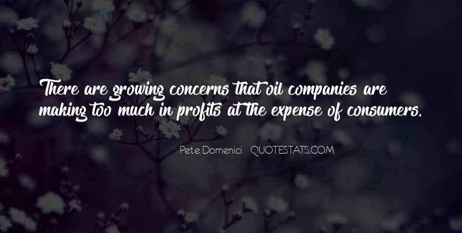 Quotes About Oil Companies #808258