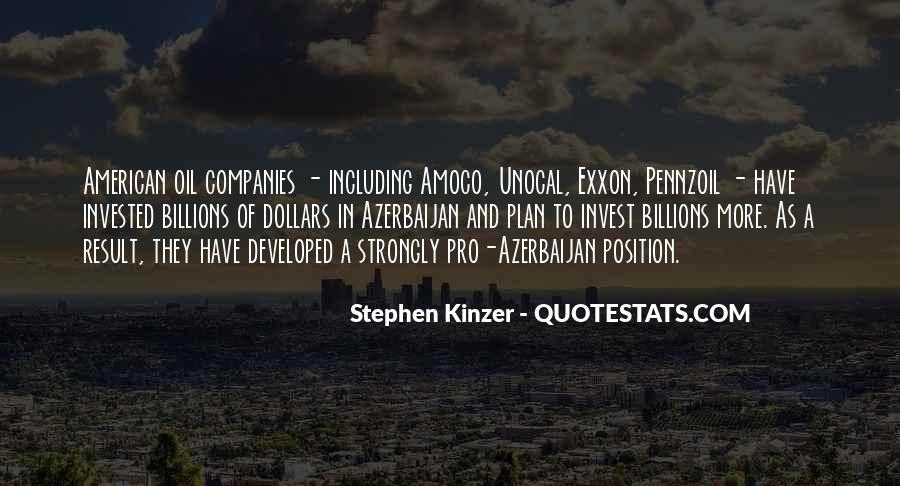 Quotes About Oil Companies #935750
