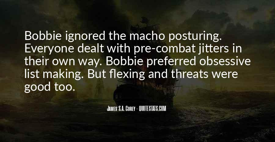 Quotes About Flexing #789168