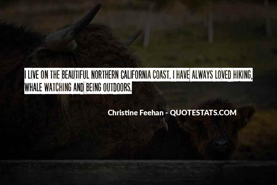 Quotes About Northern California Coast #1344480