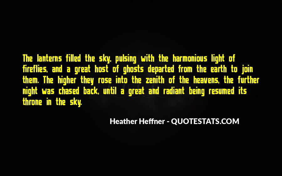 Quotes About Sky Lanterns #1756900