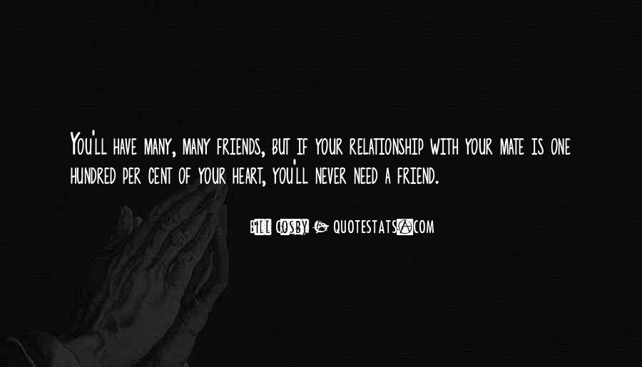 Quotes About Relationship Between Friends #238798