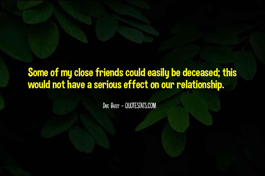 Quotes About Relationship Between Friends #655631