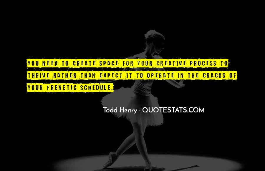 Quotes About The Need To Create #440124