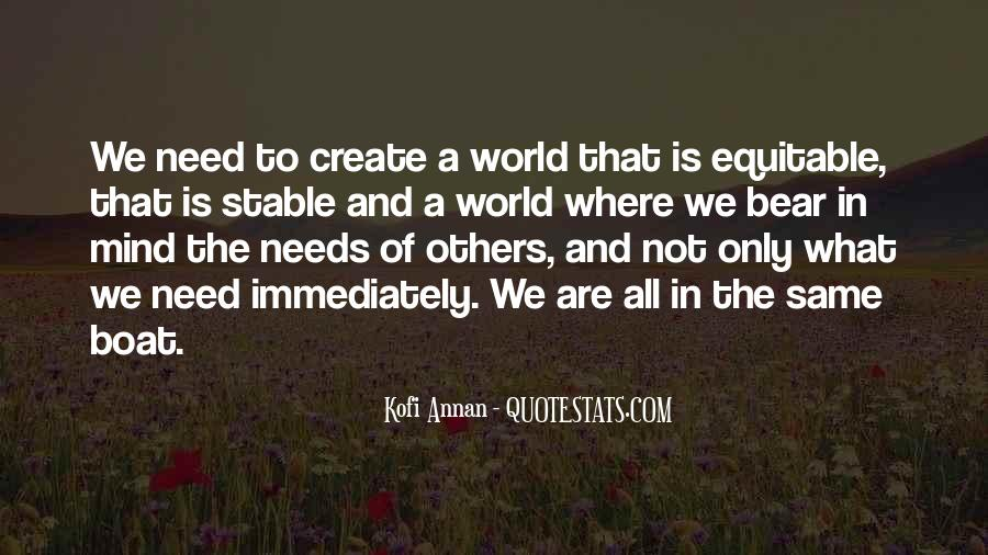 Quotes About The Need To Create #534083