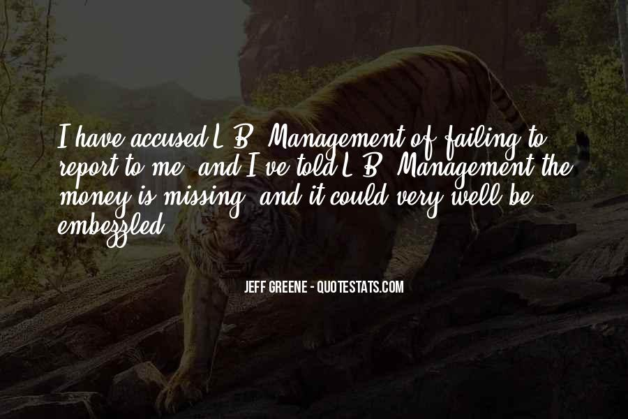 Quotes About Missing Money #1039976