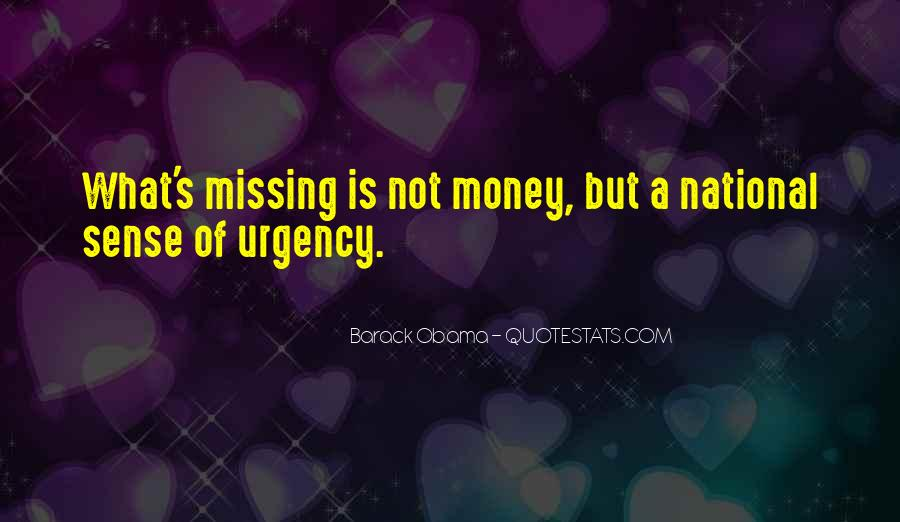Quotes About Missing Money #134439