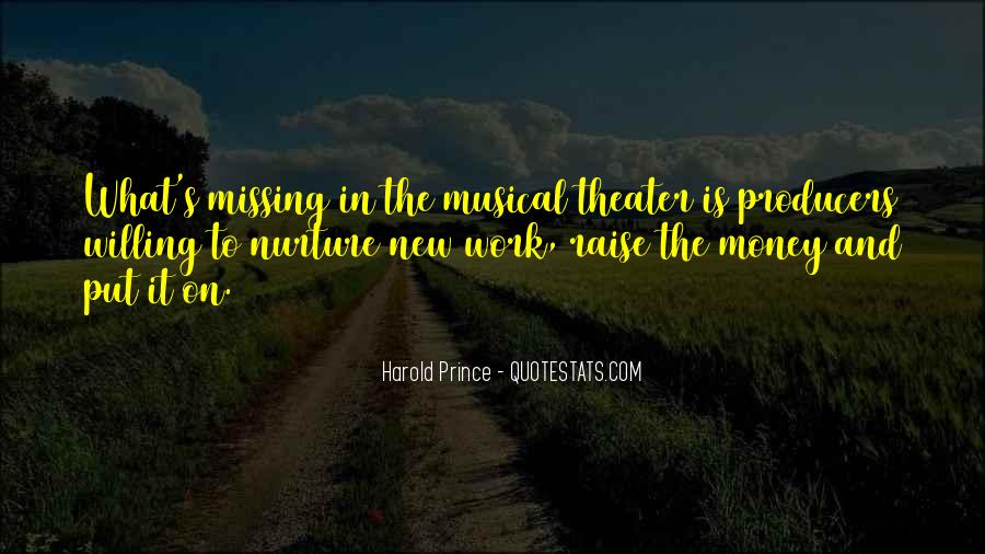 Quotes About Missing Money #165147