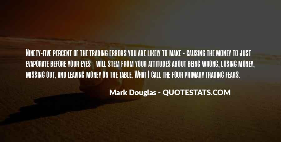 Quotes About Missing Money #169244