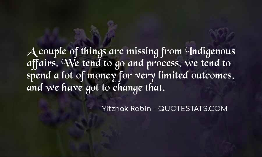 Quotes About Missing Money #1729972