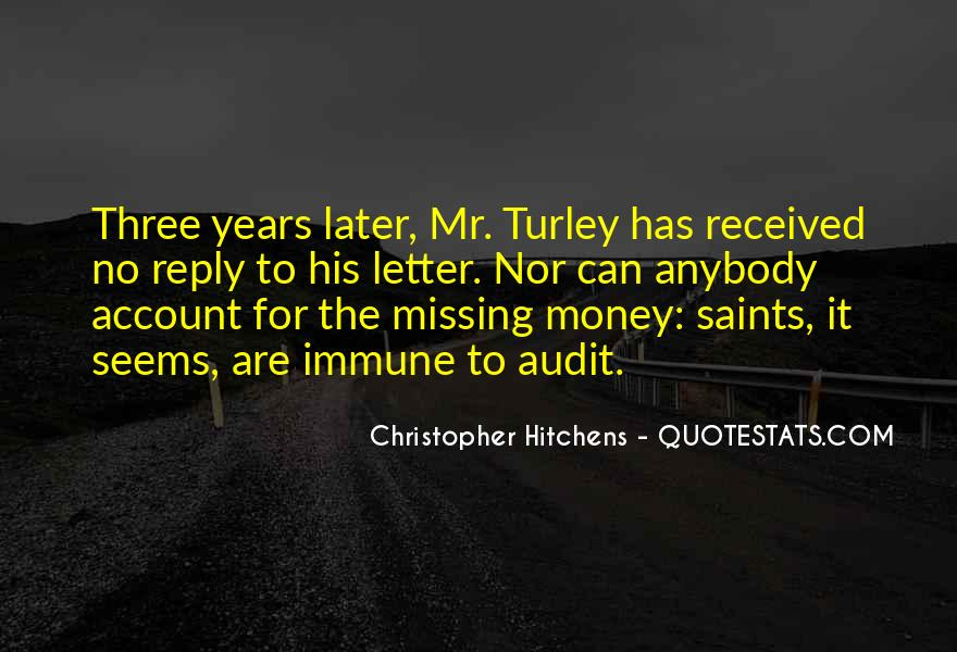 Quotes About Missing Money #1765451