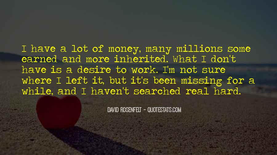 Quotes About Missing Money #1841711