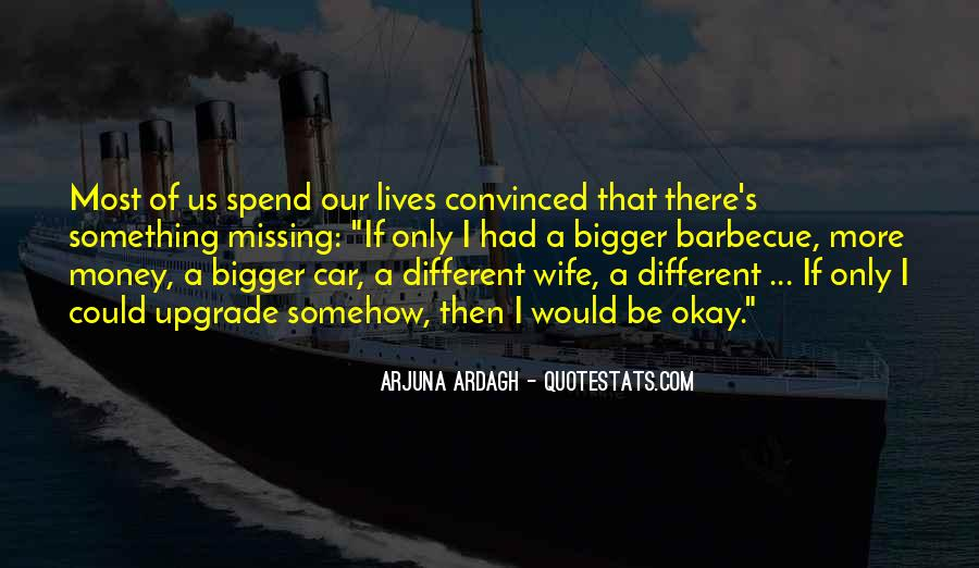 Quotes About Missing Money #808601