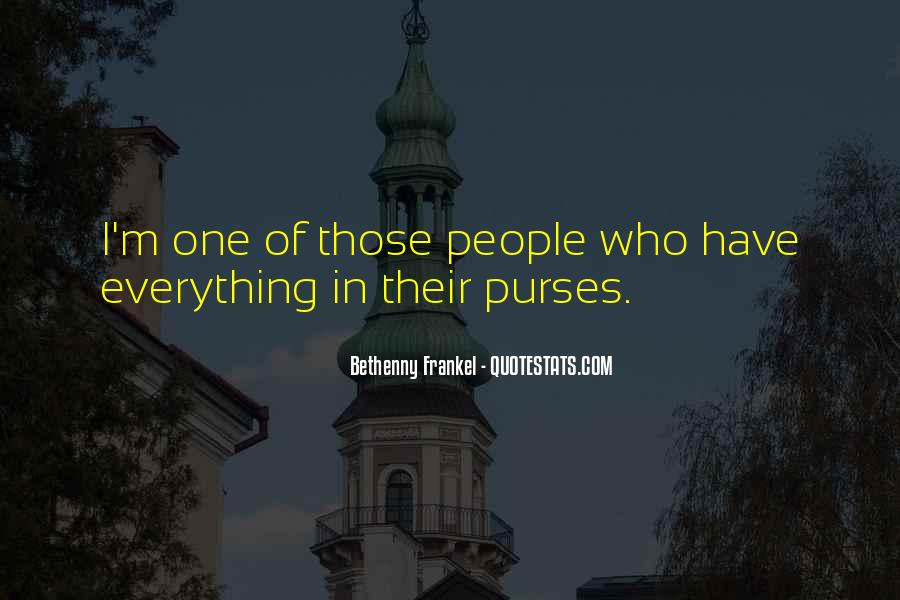 Quotes About Purses #1161158
