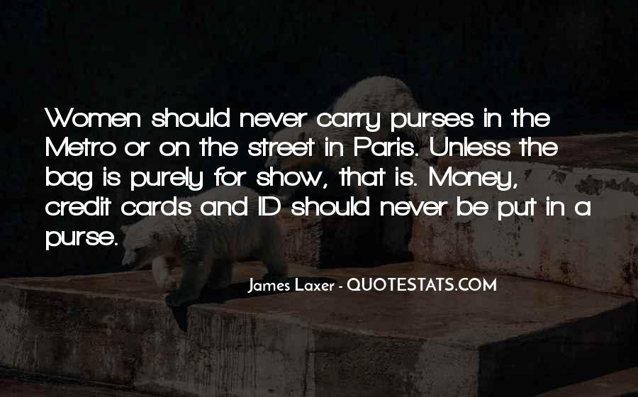 Quotes About Purses #532323