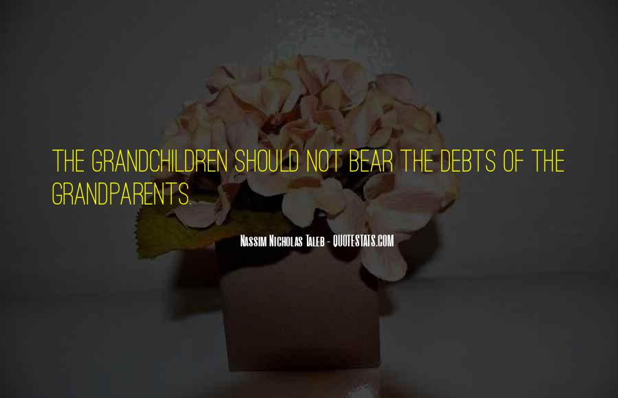 Quotes About Debts #11114