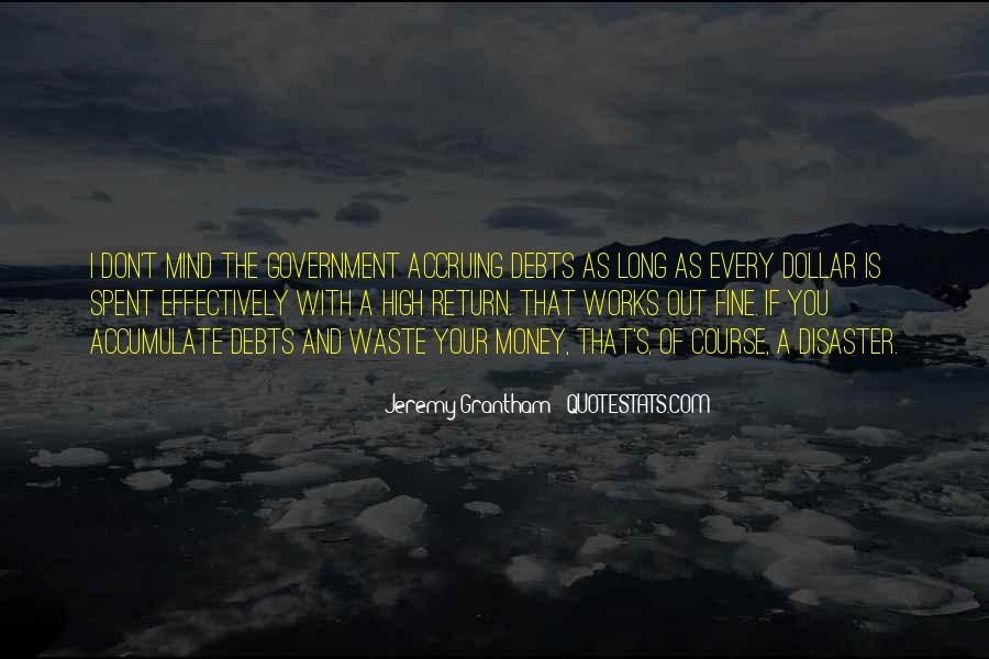 Quotes About Debts #134016