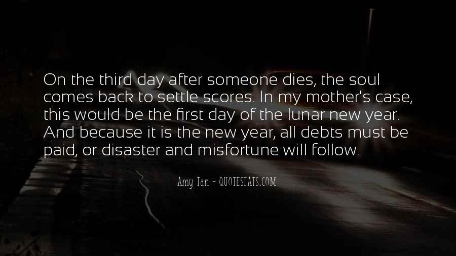 Quotes About Debts #182291