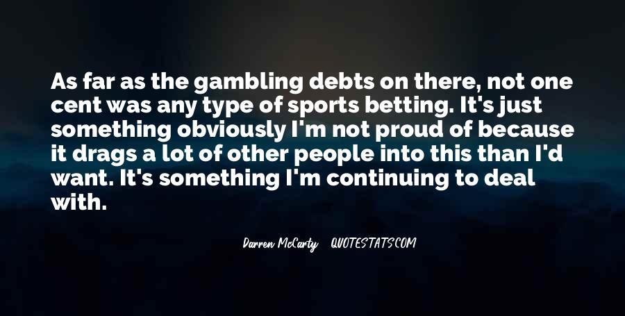 Quotes About Debts #192745