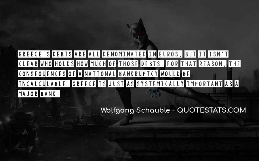Quotes About Debts #194221