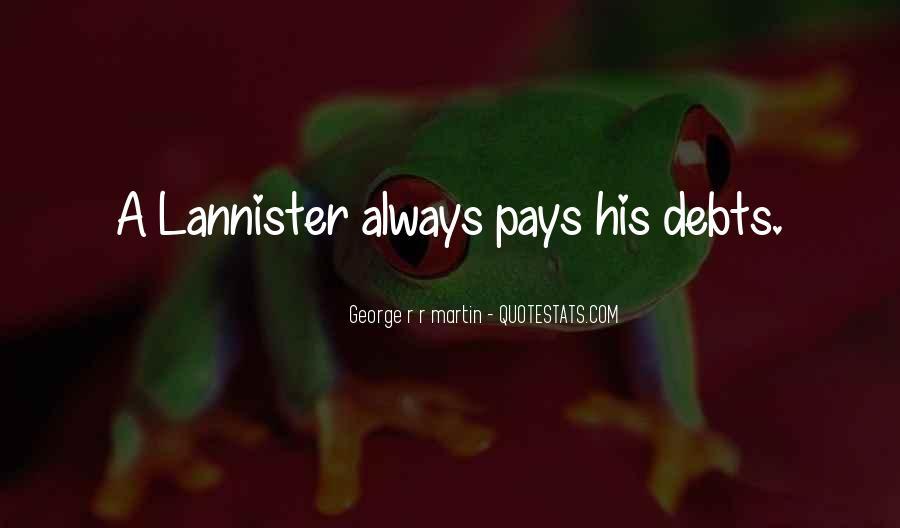 Quotes About Debts #210095