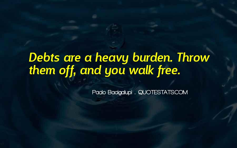 Quotes About Debts #217886
