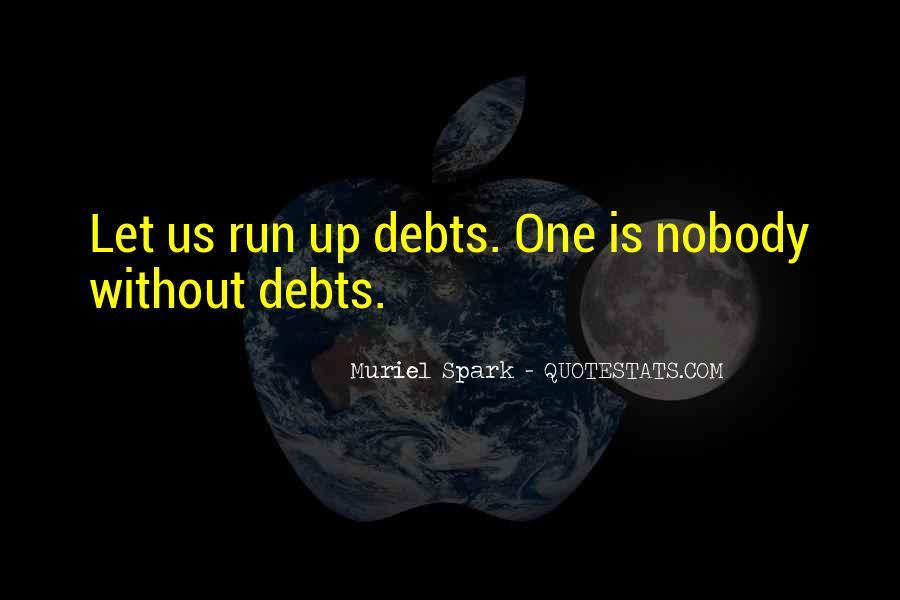 Quotes About Debts #240526