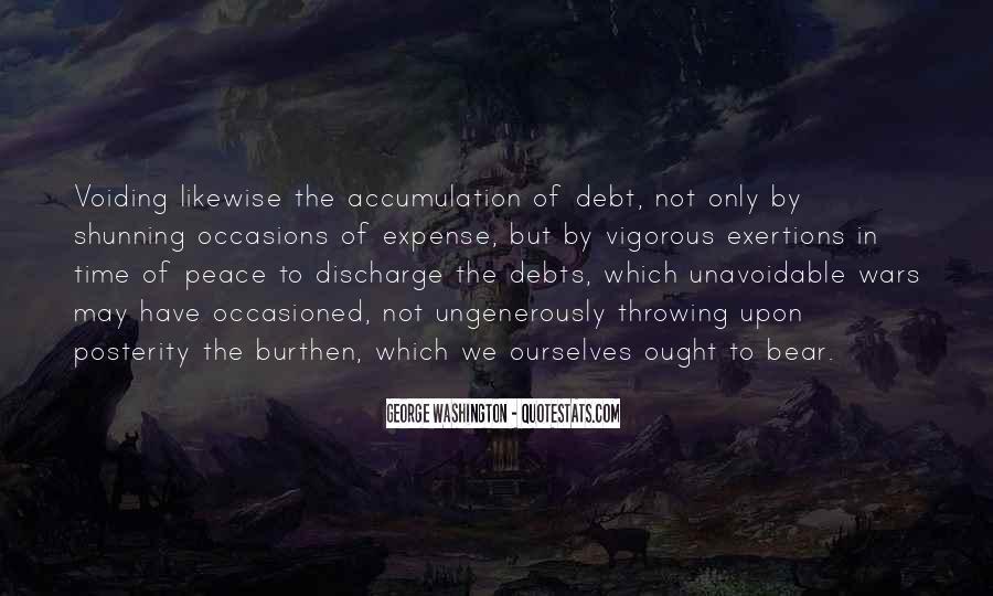 Quotes About Debts #247245