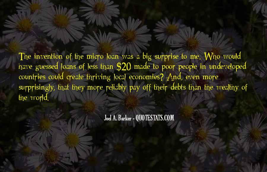 Quotes About Debts #272400