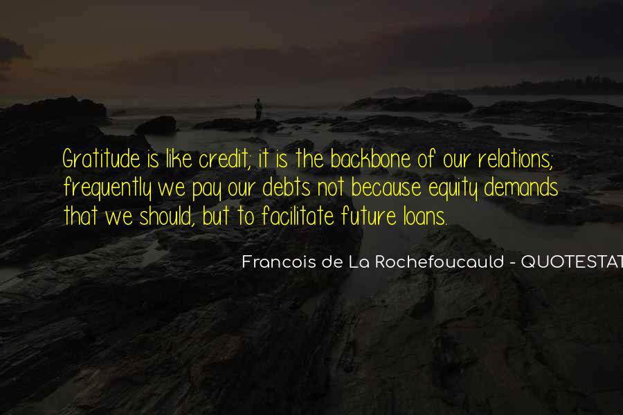 Quotes About Debts #274380