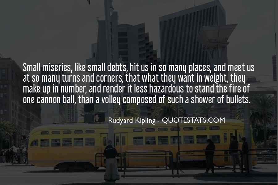 Quotes About Debts #282539